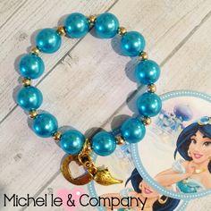 8 princesa jazmín Pearl lámpara Genie y por MichelleAndCompany