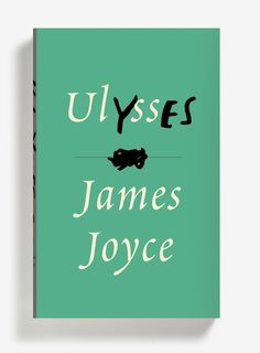 Ulysses Book Cover - James Joyce