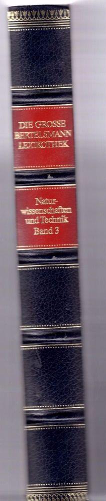 Band III, Die große Bertelsmann Lexikothek, Naturwissenschaften und Technik