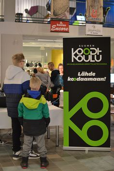Tapahtuma järjesti Kaleva yhteistyössä Suomen Koodikoulun kanssa. Luuppi, Oulu (Finland)