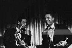 OUT Photo of John Coltrane 1961 1; Eric Dolphy & John Coltrane,Copenhagen 1961