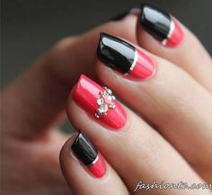 100+ Classic & Delicate French Manicure & other Beautiful Nail Art Designs
