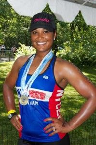 Want to do a tri? Laila Ali has 8 training tips to help get you there!