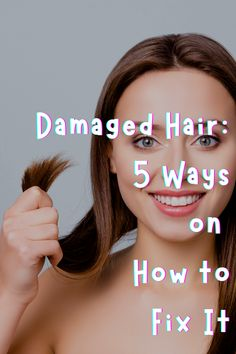 To help you prevent your hair from further damage, you must know how to recognize the different signs of damaged hair. Subject And Predicate Worksheets, Different Signs, Damaged Hair, 5 Ways, Tips, Counseling
