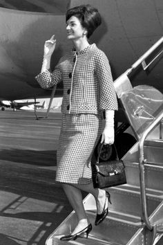 "the60sbazaar: ""Jackie Kennedy travels in style """