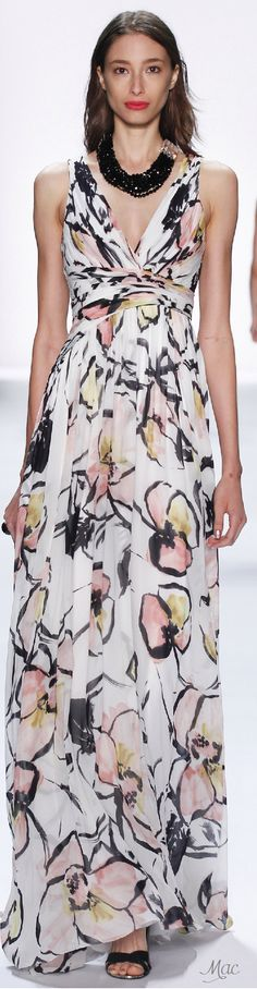 Spring 2016 Ready-to-Wear Badgley Mischka