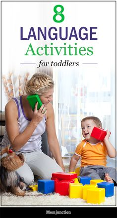 Language Activities For Toddlers. Check out this post to explore numerous activities that can help to enhance the language skills of you growing child. Language Development The older toddler participates in conversations. Communication Development, Communication Activities, Infant Activities, Preschool Language Activities, Activities For Toddlers, Toddler Learning, Early Learning, Teach Toddler To Talk, Speech Therapy