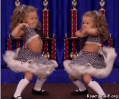 GIF Dancing, dance, funny, girl, little girl, moves, success, twerk, werk, win, winning GIF