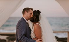 Beautiful wedding ceremony by the sea for Lari & Karen . those pastel colors by the sea made their wedding magic and full of romance 💖✨ made by noces italiennes #wedding #magic #naturewedding #weddinplanner #fun #colorsinature#photobooth#puglia#thisispuglia #love#light #italy #puglia #kiss #couplegoal #inlove Pastel Colors, Couple Goals, Photo Booth, Wedding Ceremony, Kiss, Romance, Italy, Magic, Sea