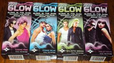 Splat Glow in the Dark temporary Hair Dye Color gel cream Purple Rave Party sexy #Splat