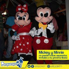 Los esposos Mickey y Minnie te esperan en la fábrica de Pequesparty. Invitalos a tu fiesta.  #fiesta #niños #diversion #entretenimiento #recreacion #maracaibo