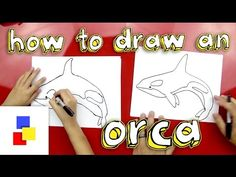 How To Draw A Killer Whale - Art for Kids Hub