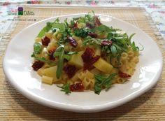 Pasta rucola e pomodori secchi