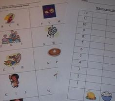 Free-Thanksgiving Handouts for math and reading