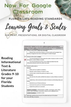 Learning Goals made easy! These scales were created with Marzano strategies in mind. Teaching Writing, Teaching Tools, Teaching Ideas, Teaching English, Learning Goals, Student Learning, Teacher Lesson Plans, Teacher Resources, Common Core Reading Standards