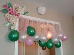 Doğum günü Eid Party, Baby Party, Birthday Parties, Balloon Decorations, Birthday Decorations, Gender Party, Crafts For Kids, Diy Crafts, Rainbow Theme
