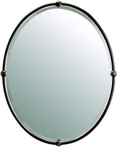 "Kichler Kichler 41006 Olde Bronze Home Decor Kichler 41006 Mirage Oval Mirror - 30"" x 24"" from LightingDirect | BHG.com Shop"