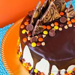 Chocolate And Peanut Butter Cake If you love chocolate and peanut butter, you are in for a real treat.  This chocolate peanut butter cake is loaded, and I mean loaded, full of chocolate and peanut butter...