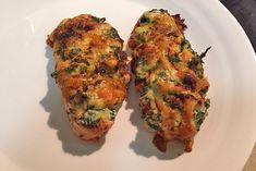 Hasselback Chicken Paprika with Spinach and Ricotta