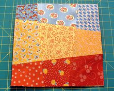 Looks like an intresting block and hopefully a fast quilt to make