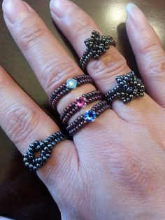Beaded Stackable Rings                                                                                                                                                     More