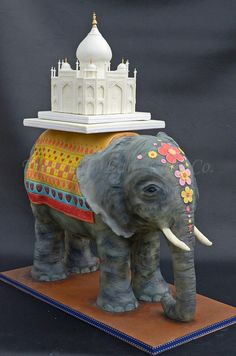 Love Around The World Collaboration - Love In India - Cake by The Chain Lane Cake Co.