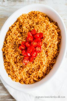 15 Minute Instant Pot Mexican Rice - learn how to make this awesome side dish!  via My Name is Snickerdoodle