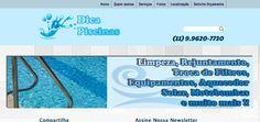 Site de empresa que faz manutenção em piscinas, visite on line: www.dicapiscinas.com.br