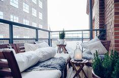 Een Winters Balkon : Beste afbeeldingen van winter balkon garten terrasse schöne