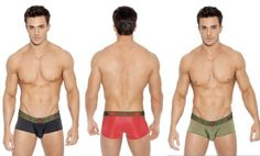 Gregg Homme Target is now available at Alpha Male Undies. New briefs and boxer briefs for men in black, khaki and red. pinned with Pinvolve - pinvolve.co
