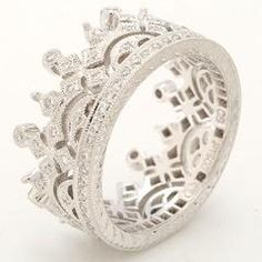 I found 'Crown Ring' on Wish, for the royalty that is me! :)