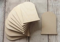 pack of 10 unpainted laser cut  blank faerie fairy doors perfect for crafting  £5