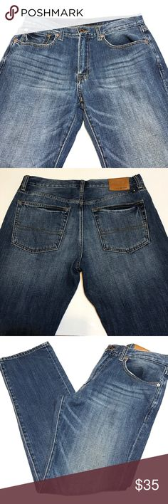 """⭐️SOLD⭐️Lucky Brand 121 Heritage Slim 32 X 30 EUC Nice pair of Lucky Brand Men's 121 Heritage Slim Jeans. Soft and has nice character. Excellent Condition.                 Size: 32 X 30; Inseam: 30""""; Rise: 10"""" Lucky Brand Jeans Slim"""