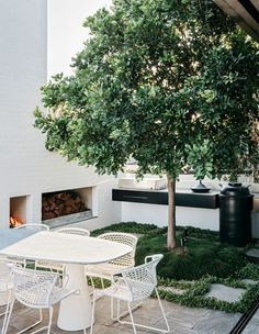 A Factory Rooftop Turned Lush Penthouse Garden. A Factory Rooftop Turned Lush Penthouse Garden Outdoor Retreat, Outdoor Spaces, Outdoor Living, Outdoor Decor, Penthouse Garden, Landscape Design, Garden Design, Riverside Garden, Rooftop Design