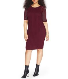 Shop for Rebel Wilson X Angels Plus Short Sleeve Jacquard Dress at Dillards.com. Visit Dillards.com to find clothing, accessories, shoes, cosmetics & more. The Style of Your Life.