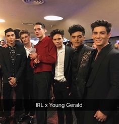 The IN REAL LIFE it's meet G-Easy at the 2k17 VMA's Boy Band Abc, Boy Bands, Chance Perez, Reality Tv Shows, My Boys, Youtubers, Famous People, Jr, Real Life