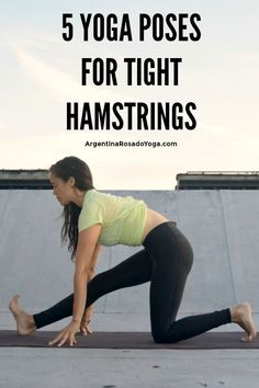 5 yoga poses for tig 5 yoga poses for tight hamstrings - Improve hamstring flexibility with this yoga sequence for the hamstrings - great for runners post travel or for strength training practitioners. Quick Weight Loss Tips, Weight Loss Help, Losing Weight Tips, Weight Loss Program, Lose Weight In A Week, How To Lose Weight Fast, Reduce Weight, Slimming World, Yoga Fitness
