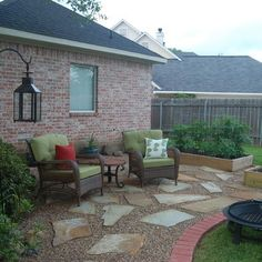 Patio Gravel Walkway Design, Pictures, Remodel, Decor and Ideas