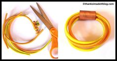 DIY Bungee Cord Bracelet Tutorial Bungee Cord, Super Glue, Cord Bracelets, Bracelet Tutorial, Diy Tutorial, Diy Fashion, Personalized Gifts, Jewels, Stool