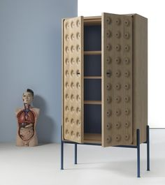 Breathe, A Wooden Cabinet By Studio BAAG