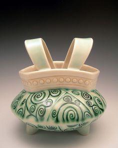 Swirl Suspender Vase -- Flickr  sandiandneil