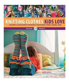 Knitting Clothes Kids Love Book by Creative Publishing int'l #zulily #zulilyfinds