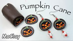 In this video I show you how to make a pumpkin cane that you can use to make scary earrings for Halloween!:-) Have fun! materials and tools i used: - Polymer...