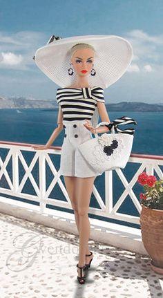 BEACH CHIC  Fashion for Poppy Parker by GwendolynsTreasures