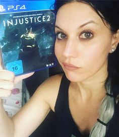 "159 Likes, 3 Comments - Cristina Scabbia (@cristinascabbia) on Instagram: ""Raining hard outside + A Ps4 pro inside = It can only mean one thing!  What do you think about…"""
