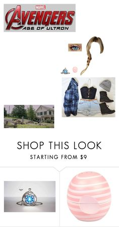 """""""Kelsey Stark: Clint's Farm"""" by nerdbucket ❤ liked on Polyvore featuring Reactor, Dunbar and River Island"""