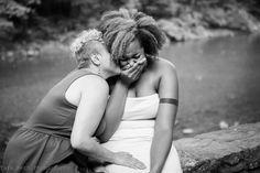 Engagement: Christina & Lauren #love #lesbian #couple