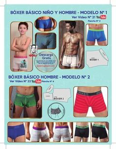 Hugo Quili Underwear Pattern, Lingerie Patterns, Sewing Lingerie, Lingerie For Men, Men's Undies, Boxers Underwear, Mens Sewing Patterns, How To Make Clothes, Sewing Projects For Beginners