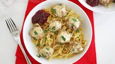 Bring back a classic Betty recipe with these savory Swedish meatballs.