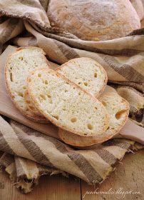 Pane, burro e alici: Pane di semola con le patate